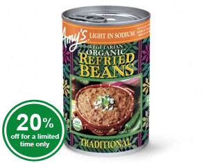 Traditional Refried Beans (raw)