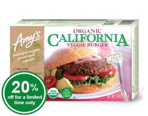 Organic California Veggie Burger