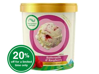 Buttermilk & Raspberry