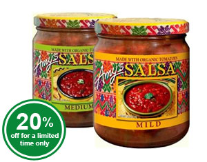 Organic Mild and Medium Salsa - La Costena
