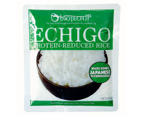 Echigo Protein-Reduced Rice