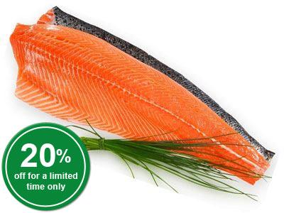 Whole Atlantic Salmon Fillet, Skin-on