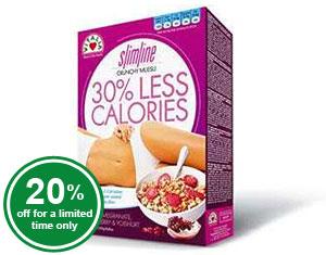 Vitalia SlimLine Crunchy Muesli - 30% Less Calories