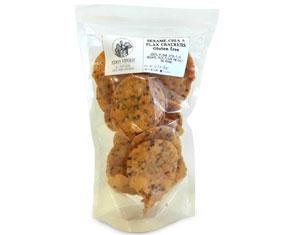 Sesame Chia & Flax Crackers