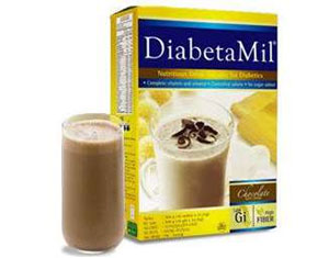 DiabetaMil® Nutritious Chocolate Drink with Cereal