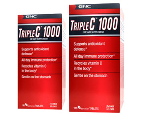 GNC New Triple C 1000 90s and 180s