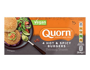 Vegan Hot & Spicy Burger