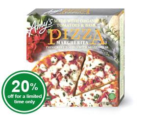 Organic Margherita Pizza
