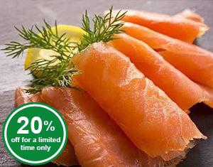 Smoked Salmon (sliced)