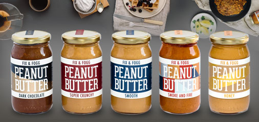 Healthy Peanut Butter and Nut Spreads
