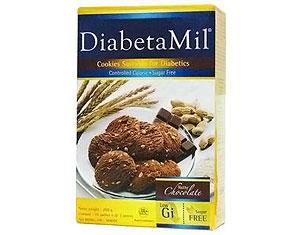 DiabetaMil® Sugar free Cookies - Nutty Chocolate