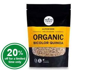 Organic Bicolor Quinoa