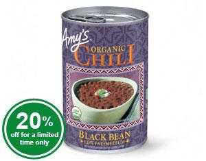 Organic Black Bean Chili