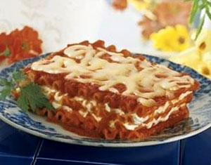 Organic Cheese Lasagna