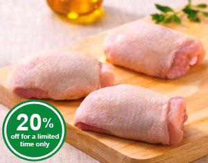 Free-Range Chicken Thighs