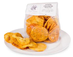 Lentil Chips Crackers