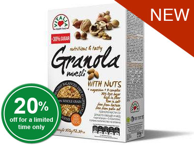 Granola Muesli With Nuts
