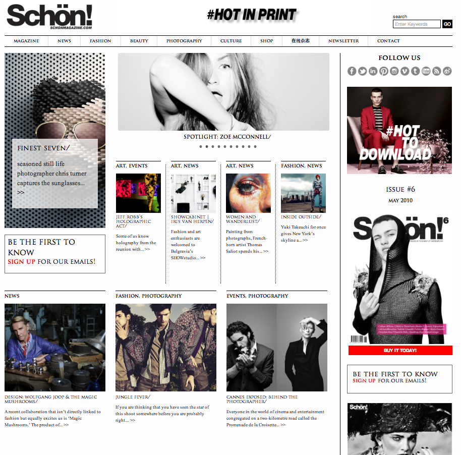 Magic Mushrooms + David Bowie + Wolfgang Joop + Finest Seven + Download Schön! 21