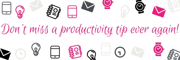 RECEIVE EXCLUSIVE WEEKLY TIPS +MORE! Become Intentional for Productivity & Fulfillment.