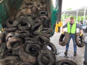 Tire Recycling Drive