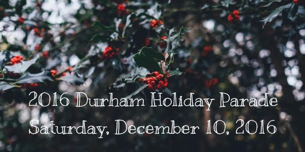 Durham Holiday Parade