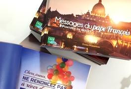 Livre Messages du pape François