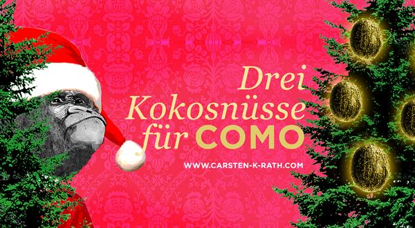 Drei Kokosnüsse für COMO