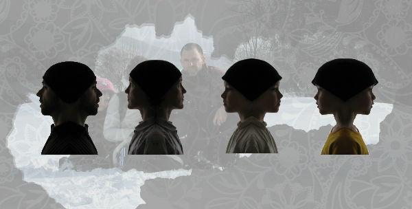 Elisabeth, Jana, Max, Todd