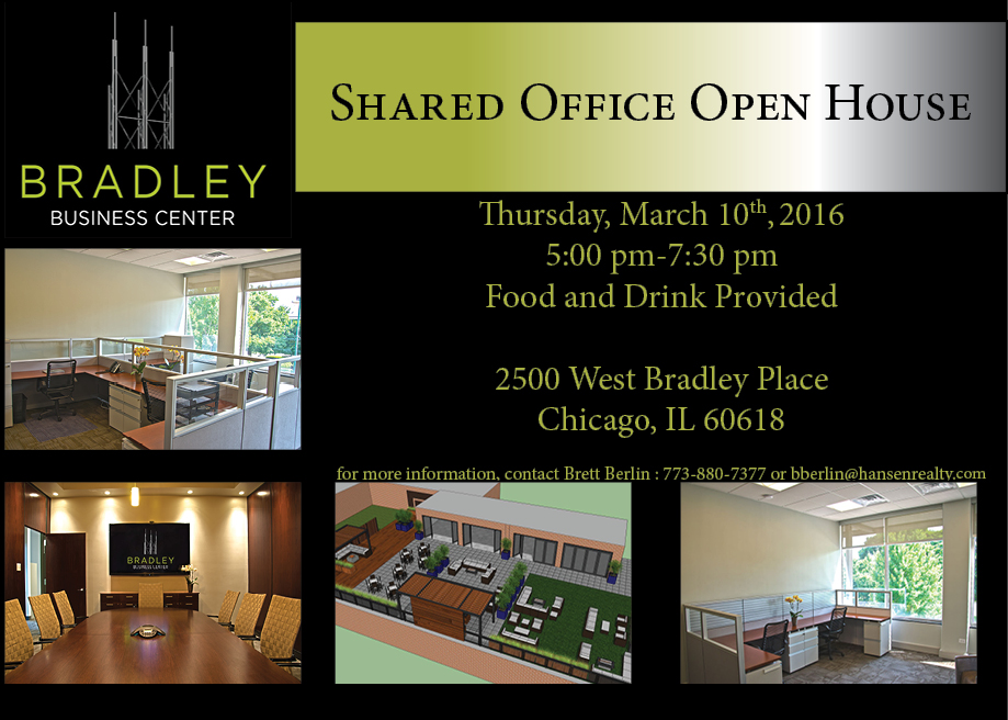 Shared office open house