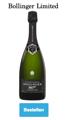 Bollinger 009 for 007 Magnum Limited Edition champagne