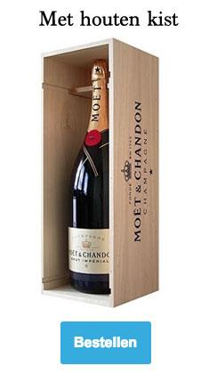 Moët & Chandon Brut Impérial Magnum champagne met houten kist