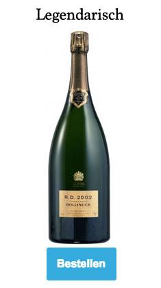 Bollinger R.D. 2002 Magnum champagne