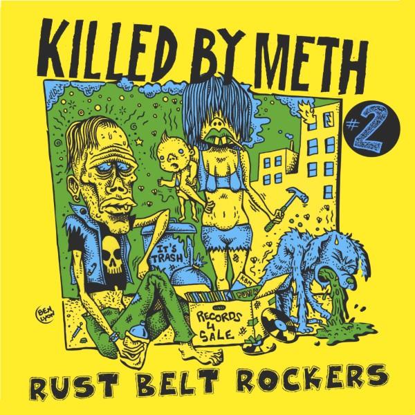 V/A- Killed By Meth Vol. 2 LP cover