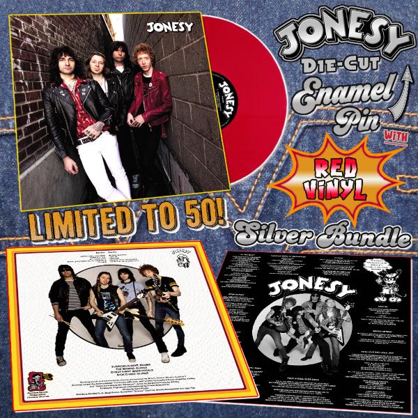Jonesy LP Silver Bundle