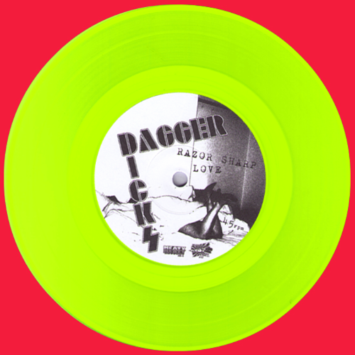 "Dagger Dicks 7"" Neon Green Wax"