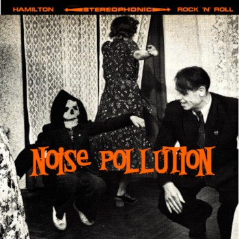 """V/A- Noise Pollution 7"""" Cover"""
