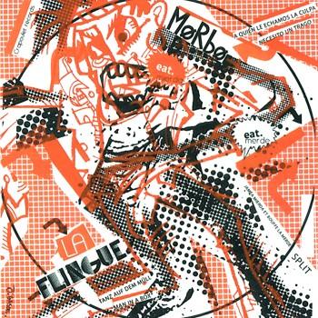 """La Flingue/Morbo- Split 7"""" Cover"""