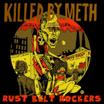 V/A- Killed By Meth LP  cover