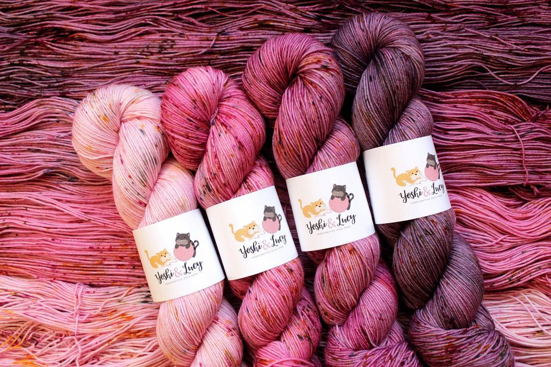 Gradient Yarn Colors from Yoshi + Lucy