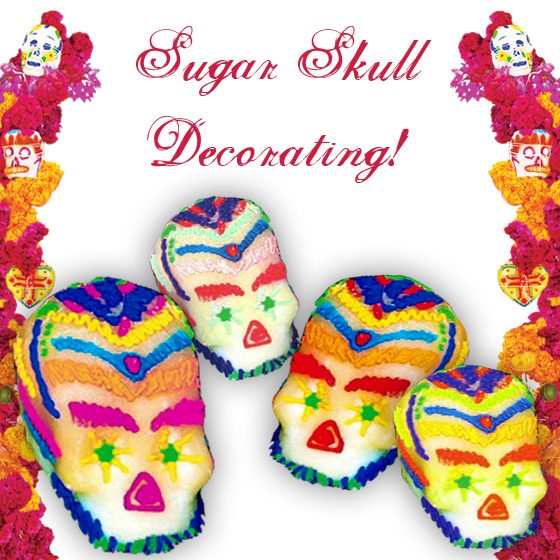Sugar Skull Decorating!