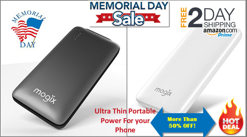 Portable Power for Cell Phones Sale Next Few Days