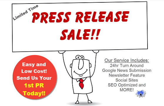 Submit your next press release article for just $9.99