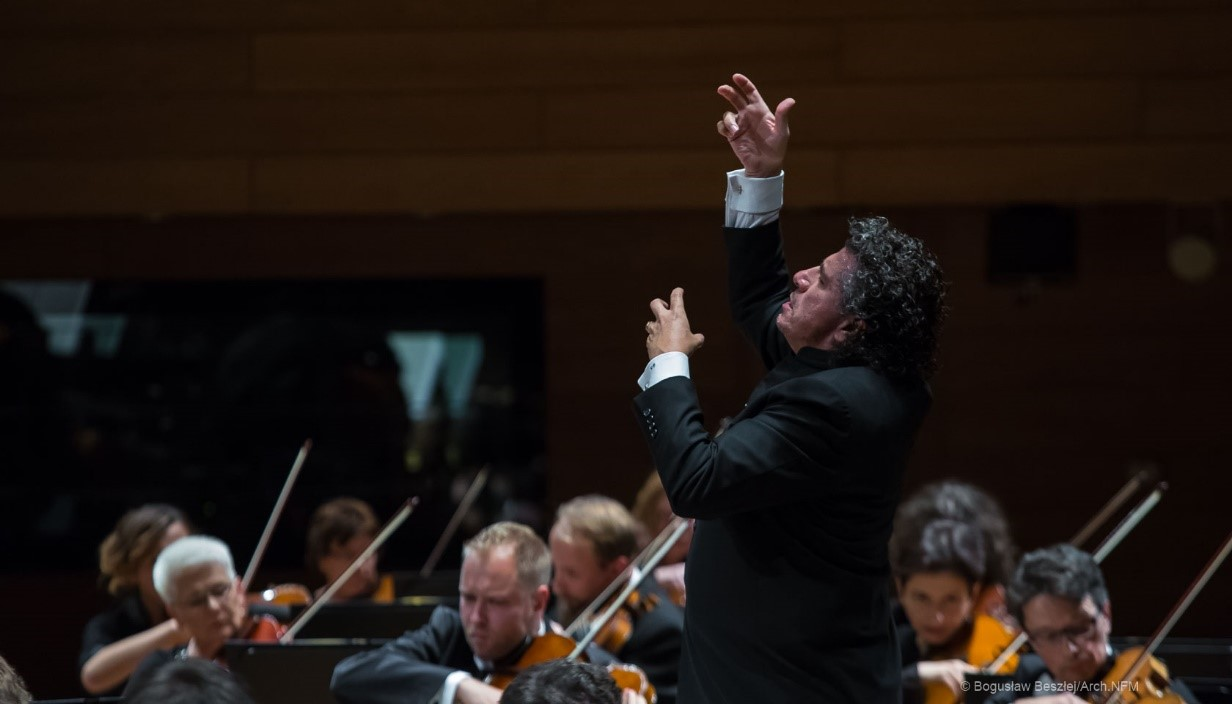 Giancarlo Guerrero at the National Forum of Music Wroclaw Philharmonic