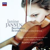 Rebecca Davis PR Presents Janine Jansen Britten/Beethoven