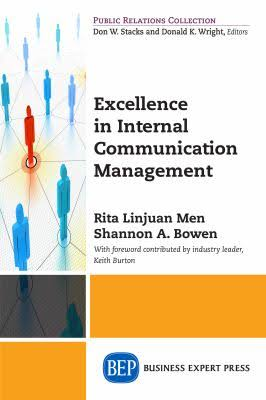 Excellence in Internal Communication Management book cover