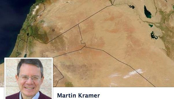 Martin Kramer on Facebook