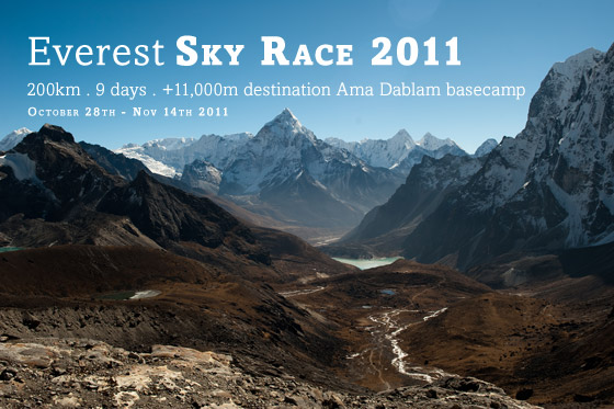 Everest sky race picture