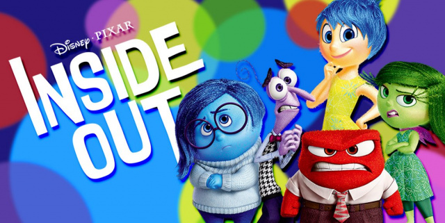 5 characters from the film Inside Out