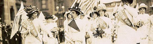 Suffragette Parade 1912