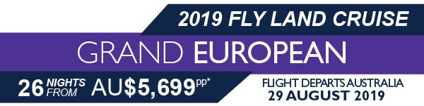 Grand European Fly Land Cruise